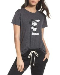 David Lerner - Mickey Mouse Tee - Lyst