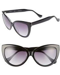Chelsea28 - Curiosity 59mm Cat Eye Sunglasses - - Lyst