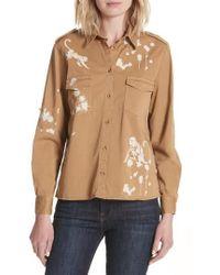 RED Valentino - Monkey Print Safari Shirt - Lyst