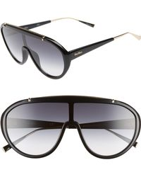 Max Mara - Wintry 133mm Shield Sunglasses - - Lyst