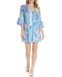 Lilly Pulitzer - Lilly Pulitzer Hollie Tunic Dress - Lyst