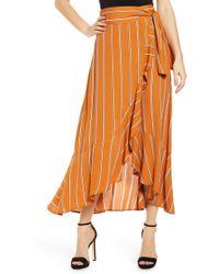 Leith Flowy Wrap Skirt
