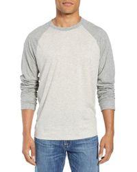 James Perse - Regular Fit Baseball T-shirt - Lyst