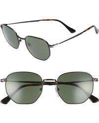 1107f1f0a5 Lyst - Persol 58mm Polarized Sunglasses in Black for Men