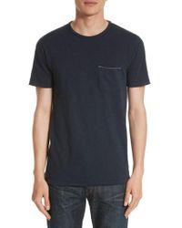 Rag & Bone - Owen Pocket T-shirt - Lyst