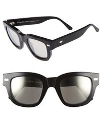 Acne | 'frame' 48mm Sunglasses | Lyst