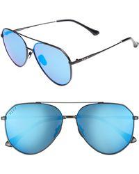 DIFF - Dash 58mm Aviator Sunglasses - - Lyst