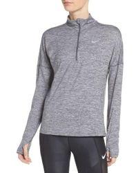 Nike - Dry Element Half Zip Top - Lyst