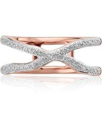 Monica Vinader - Riva Diamond Ring - Lyst