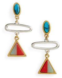 Madewell - Desert Sunset Link Earrings - Lyst
