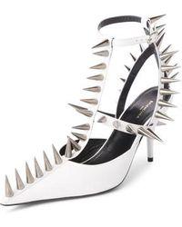 Balenciaga - Metal Spike Slingback Pump - Lyst