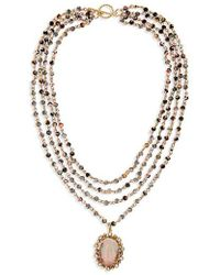 Virgins, Saints & Angels - Bee-lieve Magdalena Layered Necklace - Lyst