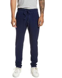 Goodlife | Terry Cloth Cotton Blend Trousers | Lyst