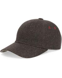 Lyst - Ted Baker Herringbone Flat Cap in Gray for Men 1e16d0fec106