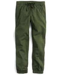 J.Crew | J.crew Galicia Pull-on Cargo Trousers | Lyst