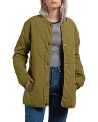 Volcom - Quilted Liner Jacket - Lyst