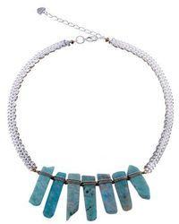 Nakamol - Amazonite Stick Statement Necklace - Lyst