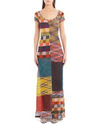 Missoni - Stretch Wool Maxi Dress - Lyst