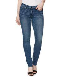 PAIGE - Transcend Vintage - Skyline Skinny Jeans - Lyst