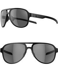 adidas - Pacyr 58mm Polarized Navigator Sport Sunglasses - Lyst