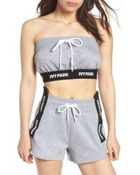 Ivy Park - Reconstructed Tube Top - Lyst
