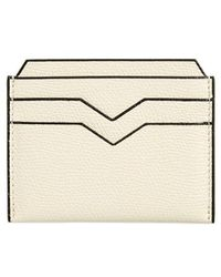 Valextra - Leather Card Case - - Lyst