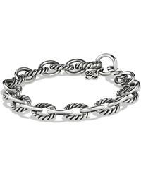 David Yurman - 'oval' Link Bracelet - Lyst