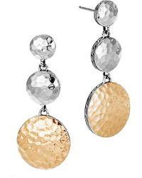 John Hardy - Dot Linear Drop Earrings - Lyst