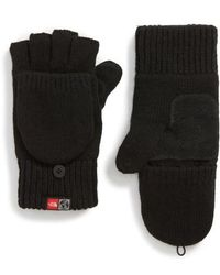 The North Face - Backflip Convertible Mittens - Lyst