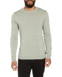 TOPMAN - Twist Side Rib Crewneck Sweater - Lyst