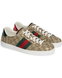 4feaad67ee4 Lyst - Gucci Ace Gg Supreme Sneaker for Men