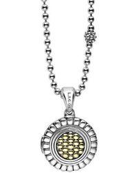 Lagos - Beloved Locket Pendant Necklace - Lyst
