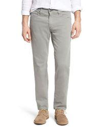AG Jeans - Tellis Sud Modern Slim Stretch Twill Pants - Lyst