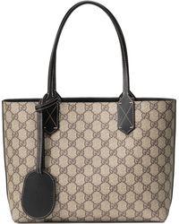Gucci - Turnaround Small Reversible Leather Tote - None - Lyst