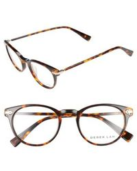 Derek Lam - 48mm Optical Glasses - Havana Tortoise - Lyst