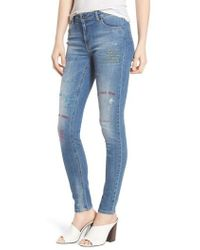 SuperTrash | Paradise High Waist Skinny Jeans | Lyst