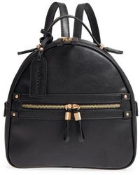 Sole Society - Zypa Faux Leather Backpack - Lyst