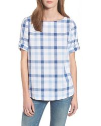Barbour | Malin Relaxed Fit Popover Top | Lyst