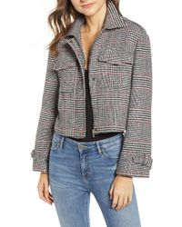 Bishop + Young - Houndstooth Plaid Jacket - Lyst