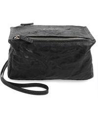 c8181ba82f7 Givenchy Pandora Pure Medium Shoulder Bag in Gray - Lyst