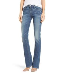 Mcguire - Gainsbourg High Waist Bootcut Jeans - Lyst