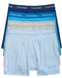 Calvin Klein - Classic 4-pack Cotton Boxer Briefs - Lyst