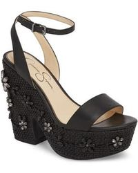 Jessica Simpson   Cressia Platform Sandal   Lyst