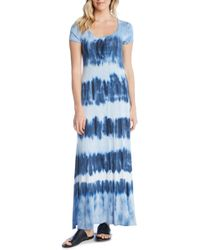 Karen Kane - Tie-dye Maxi Dress - Lyst