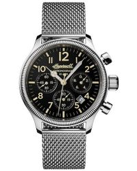 INGERSOLL WATCHES - Ingersoll Apsley Chronograph Mesh Strap Watch - Lyst