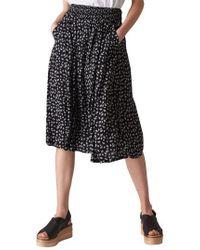 Whistles - Gobi Print Skirt - Lyst