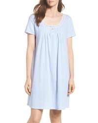 Carole Hochman | Cotton Jersey Sleep Shirt | Lyst