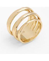 Alexis Bittar - 'miss Havisham - Kinetic Gold' Stack Ring - Lyst