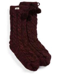 UGG - Ugg Fleece Lined Socks - Lyst
