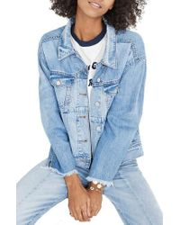 Madewell - Reconstructed Jean Jacket - Lyst